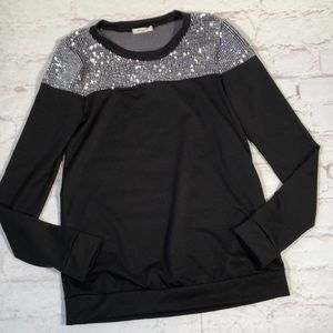 12pm by Mon Ami sparkle top!  Size Small